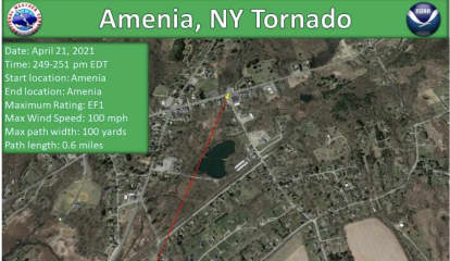New Images Show Paths Of Tornadoes That Touched Down In CT, NY