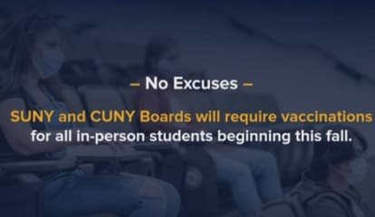 COVID-19: SUNY, CUNY To Require Vaccinations For All Students Before Returning To Campus