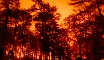 PHOTOS: Firefighters Battle South Jersey Forest Fire That Scorched 1,000 Acres For 17+ Hours