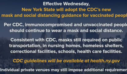 COVID-19: Date Announced When Mask Mandate Will Be Dropped For Vaccinated People In NY