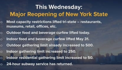 COVID-19: Lift On Restrictions For NY Restaurants, Businesses Starts