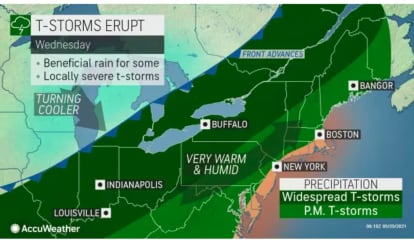 Strong To Severe Storms Will Bring Damaging Wind Gusts, Possible Tornadoes, Hail