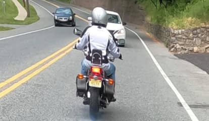 Wrong-Way Driver 'Tried To Kill' Wife, Phillipsburg Motorcyclist Says In Caption Of Viral Photo