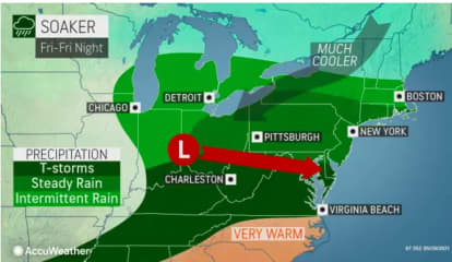 Memorial Day Weekend Will Get Off To Stormy Start: Here's The Five-Day Forecast