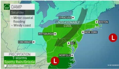 Slow-Moving Storm System Takes Hold On Region: Here's Latest Memorial Day Weekend Outlook