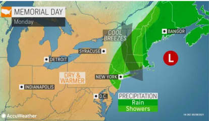 After The Storm: Here's Latest Memorial Day, Five-Day Forecast