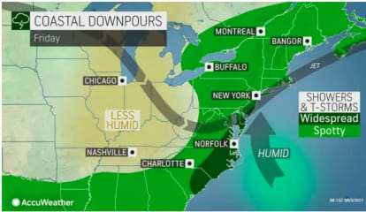 New Round Of Gusty Thunderstorms Will Lead To Big Change In Weather Pattern