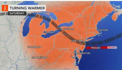 Big Change In Weather Pattern Arrives As Wave Of Heat Hits Region