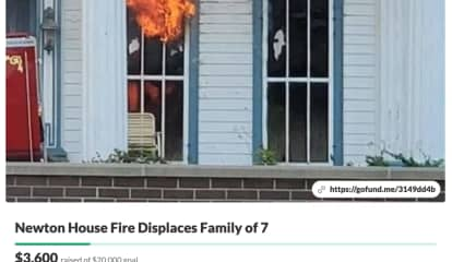 'They Lost Everything:' Support Surges For Family Of 7 Displaced In Sussex County House Fire