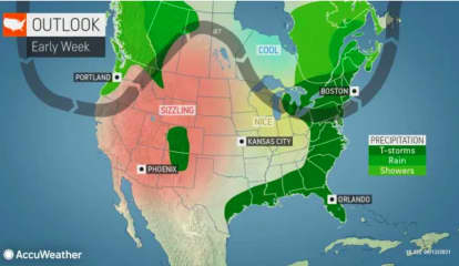 Chance For Scattered Severe Storms With Downpours, Damaging Winds Will Last For Days