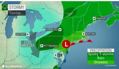 Spotty Showers With Pop-Up Storms Possible Before Big Change In Weather Pattern Arrives