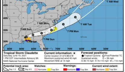 Claudette Should Regain Strength As It Treks Toward Northeast: Here's What To Expect In Region