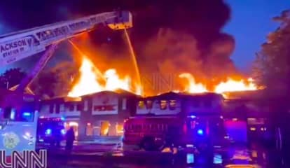 Hundreds Evacuated As Fire Destroys Lakewood Grocery Store, Reports Say