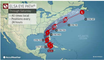 Here's When Tropical Storm Elsa Could Affect Region