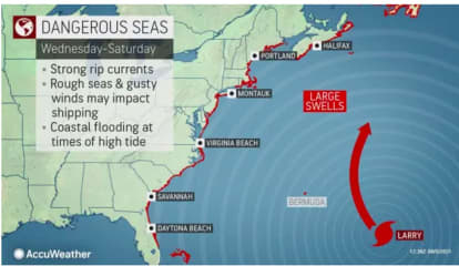 LATEST ON LARRY: Larger, Stronger 'But Not Close Enough' For Concern Here