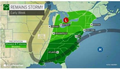New Storm System Will Lead To Rainy Stretch In Region
