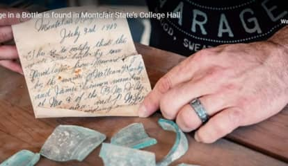 ICYMI: 112-Year-Old Message In A Bottle Found At Montclair State University