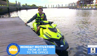 Commuter's Trip From Jersey City To Brooklyn Takes 15 Minutes—By Jet Ski