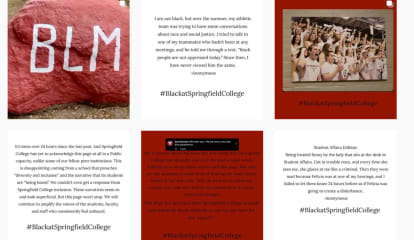 Being Black: Racism Against Springfield College Students Is Aired On Instagram
