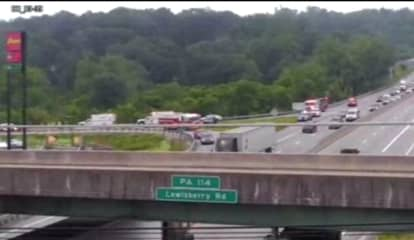 Rollover Closes Exit 39 Of I-83 In York
