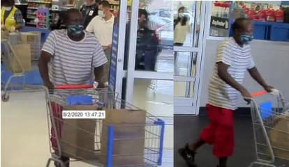 Man Wanted For Using Credit Card Stolen From Car At Walmart In Fairfield County