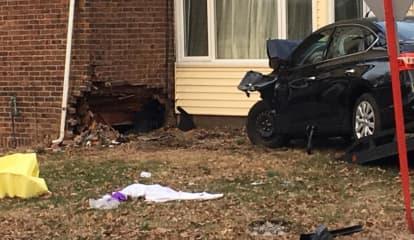 Two Hospitalized, House Uninhabitable After Fair Lawn Crash