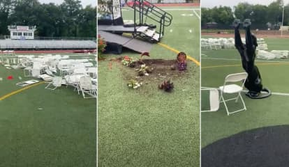 Rampaging NJ Teens Destroy Statue, Stop Train Service, After Graduation
