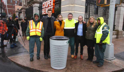 Talking Trash: NYC Unveils New Sleek Model For 23,000 Garbage Bins That Are 20 Pounds Lighter