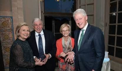 Bill, Hillary Clinton Honored As John D. Rockefeller Jr.  Park Preservation Award Winners