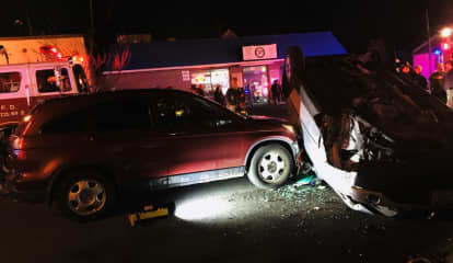 Oradell Drivers Involved In New Milford Rollover