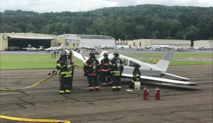 Four-Seat Airplane Forced To Make Emergency Landing At Danbury Airport