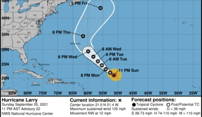 'Lumbering' Larry Looks Like He'll Be Losing Steam, Hurricane Center Reports