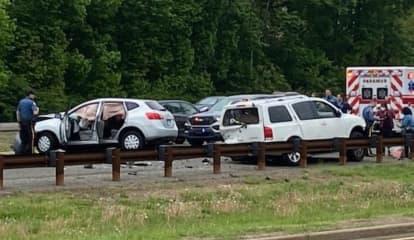 Garden State Parkway Crash Jams Traffic