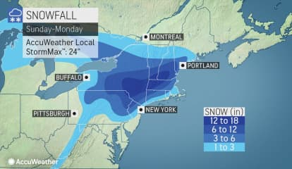 Storm Track: Here's Latest On Slow-Moving Nor'easter Bringing Snow, Ice, Rain To Region