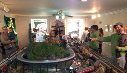 Halloween Kicks Off At Lasdon Park Train Show