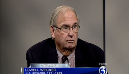 Flash From The Past: Lamont Meets With Ex-CT Governor Lowell Weicker