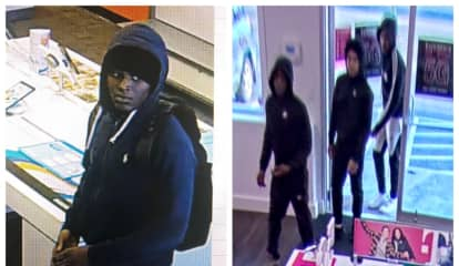 Trio Wanted For Stealing $10K Worth Of Items In Smash-Grab At CT T-Mobile