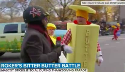 Video: Westchester Pastor Has Bitter Butter Battle With Al Roker During Thanksgiving Day Parade