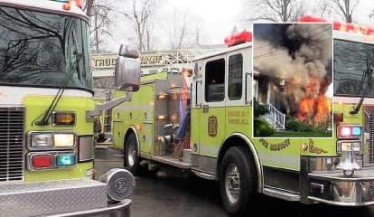 Wayne Police Officer Braves Flames, Dog Dies In House Fire