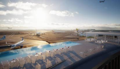 Rooftop Infinity Pool, Observation Deck To Open At JFK Airport
