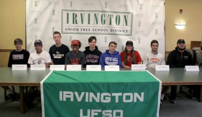 Ready For Next Level: Irvington HS Athletes Celebrate College Commitments