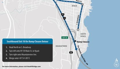 Ramp Closures Scheduled On I-87 Near New Tappan Zee Bridge