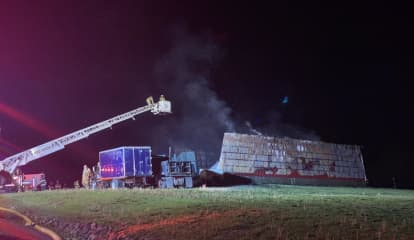 Fire Destroys Barn, Another Structure At Area Business