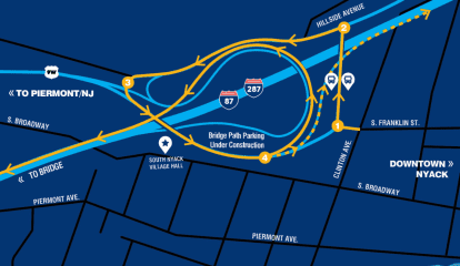Here's When Newly Reconfigured Interchange 10 On NY Thruway In South Nyack Opens