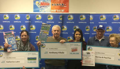 Meet Hudson Valley's Newest Millionaires: NY Lottery Winners Identified