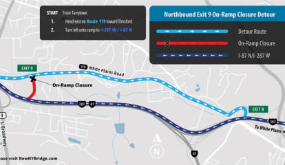 Lane, Ramp Closures As Tappan Zee Constructors Prepares Traffic Shift In Westchester, Rockland