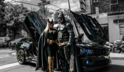Meet Batman & Batgirl At Englewood Cliffs Trunk-Or-Treat