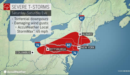 Severe Weather Watch: Strong Thunderstorms With Damaging Wind Gusts Expected
