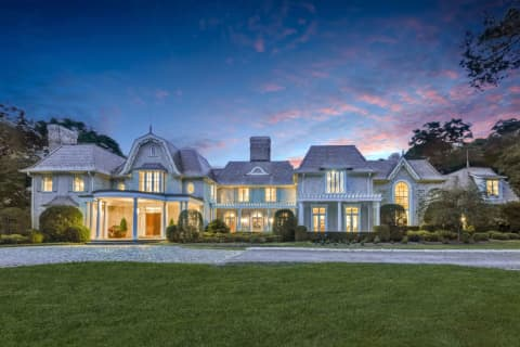PHOTOS: Saddle River Mansion With Greenhouse, Backyard Oasis Listed At $9.8M