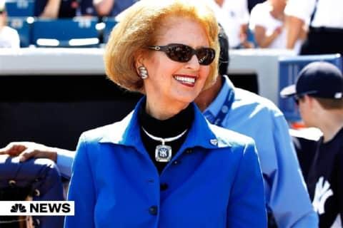 Joan Steinbrenner, Wife Of Late Yankees Owner, Dies At 83